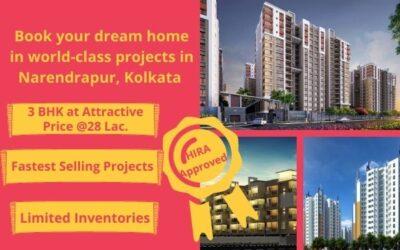 3 BHK flats in Narendrapur Kolkata