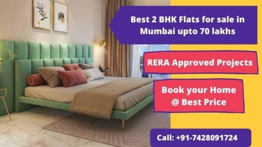 Best 2 BHK Flats for sale in Mumbai upto 70 lakhs