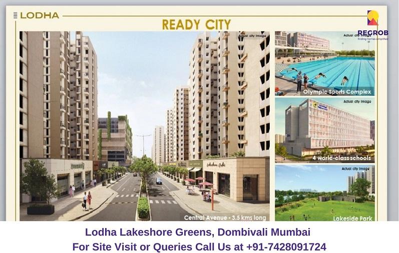 Lodha Lakeshore Greens Dombivali Mumbai Amenities