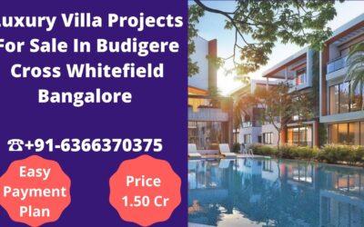 Luxury Villa For Sale In Budigere Cross