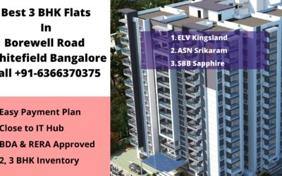 best 3 bhk flats for sale in borewell road whitefield bangalore