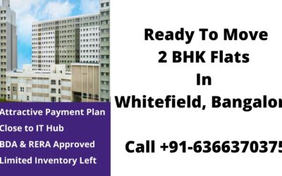 ready to move 2 bhk flats in whitefield bangalore