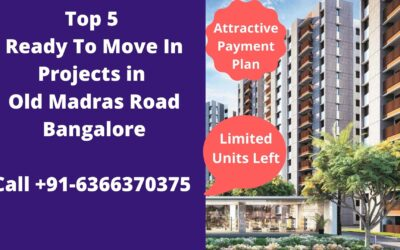 ready to move in flats in old madras road