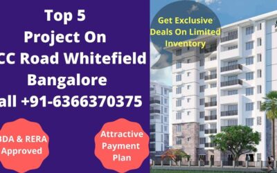top 5 project on ecc road whitefield bangalore