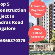 under construction project in old madras road