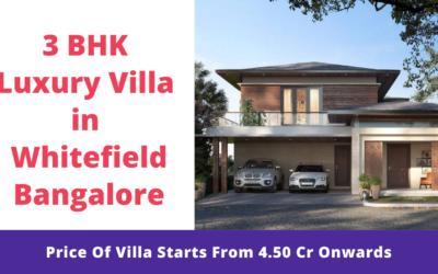3 BHK Luxury Villa in Whitefield Bangalore
