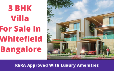 3 BHK Villa for sale in Whitefield Bangalore