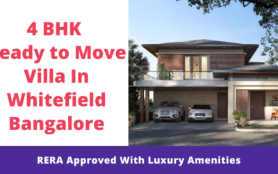 4 BHK Ready to move Villa In Whitefield Bangalore