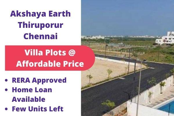 Akshaya earth Chennai