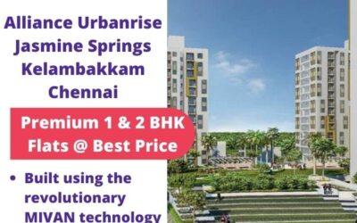 Alliance Urbanrise Jasmine Springs Kelambakkam Chennai