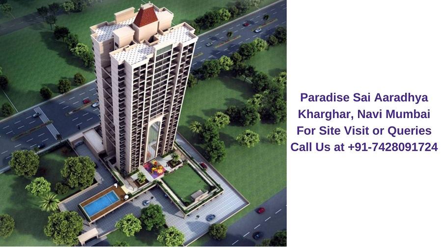 Paradise Sai Aaradhya Kharghar, Navi Mumbai Elevated View (4)