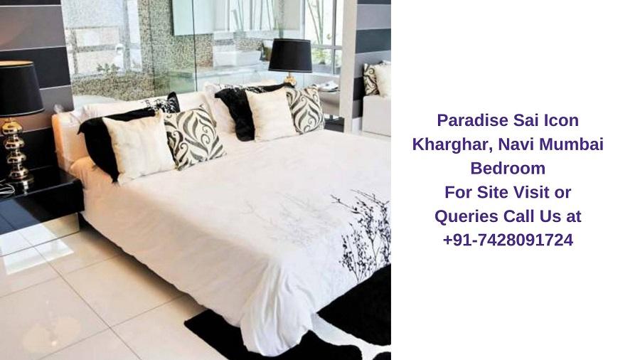 Paradise Sai Icon Kharghar, Navi Mumbai Bedroom
