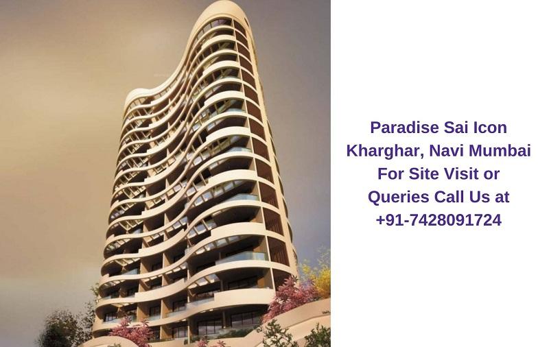 Paradise Sai Icon Kharghar, Navi Mumbai Elevated View (2)