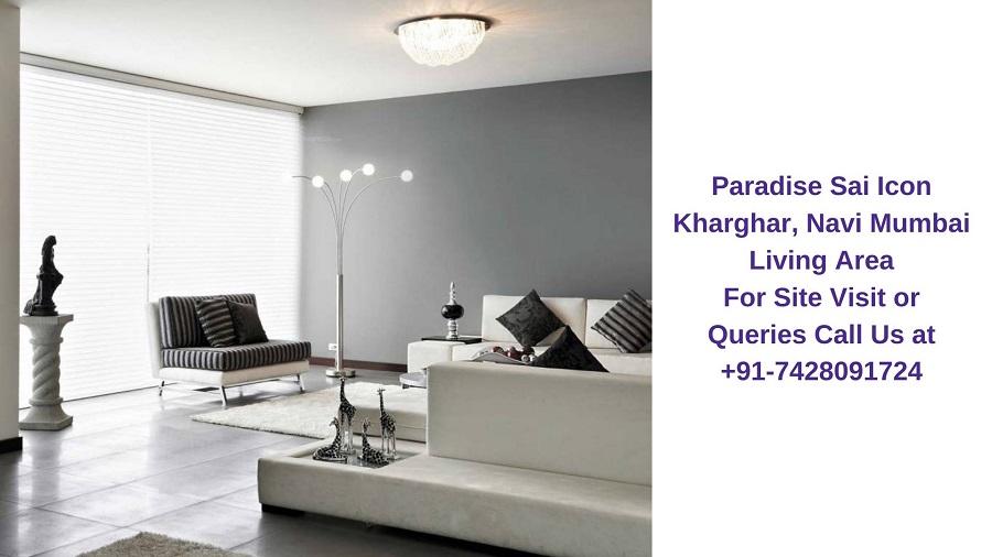 Paradise Sai Icon Kharghar, Navi Mumbai Living Area (1)