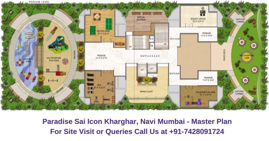 Paradise Sai Icon Kharghar, Navi Mumbai Master Plan