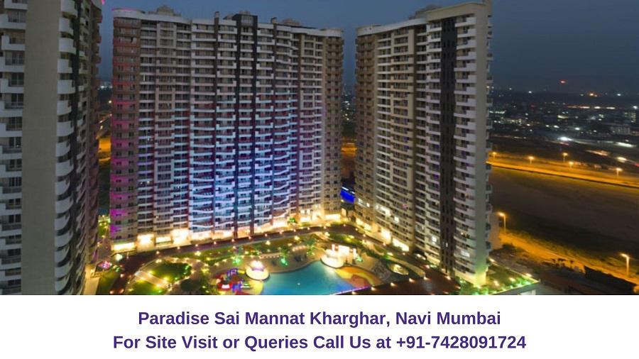 Paradise Sai Mannat Kharghar, Navi Mumbai Elelvated View (2)