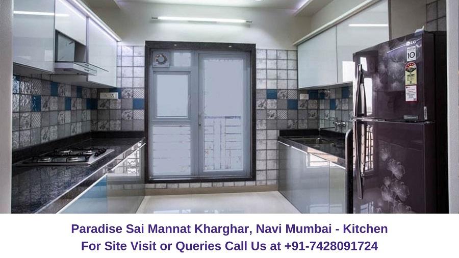 Paradise Sai Mannat Kharghar, Navi Mumbai Kitchen