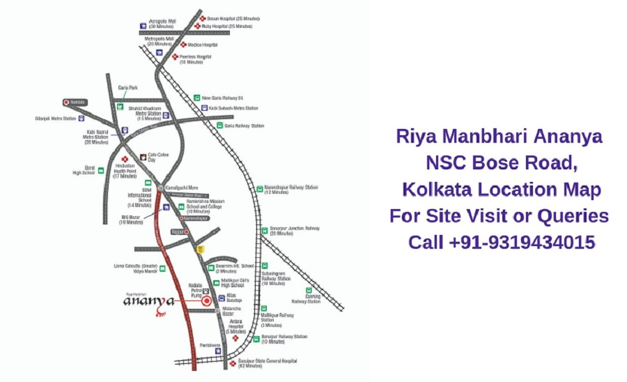 Riya Manbhari Ananya NSC Bose Road, Kolkata