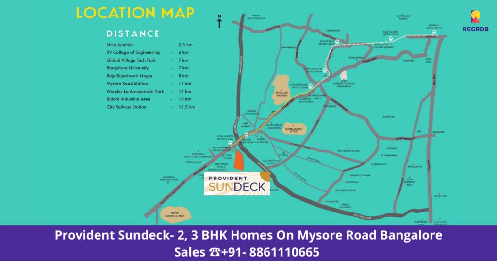 Provident Sundeck Location Map