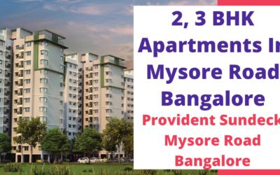 Provident Sundeck Mysore Road Bangalore