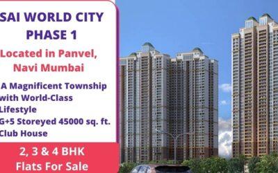 SAI WORLD CITY PHASE 1 Navi Mumbai