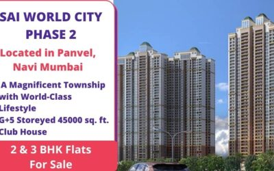 SAI WORLD CITY PHASE 2 KHARGHAR NAVI MUMBAI