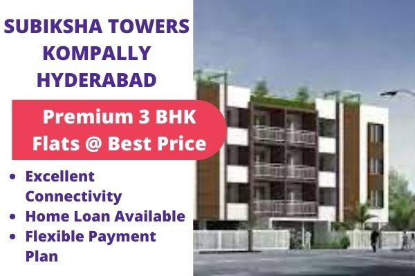 subiksha towers Komaplly Hyderabad