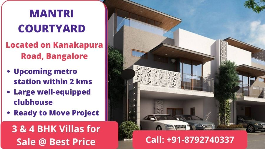 MANTRI COURTYARD on Kanakapura Road, Bangalore