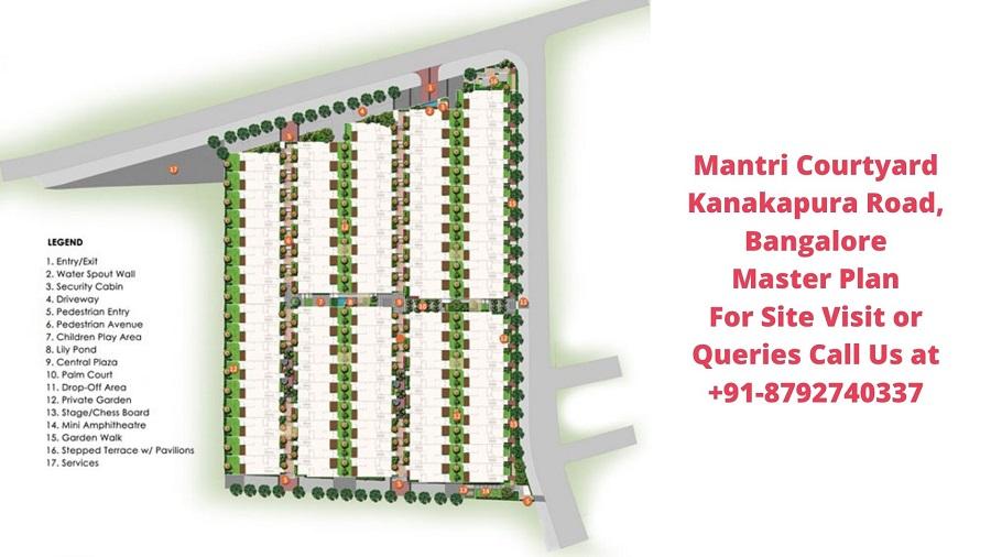 Mantri Courtyard Kanakapura Road, Bangalore Master Plan