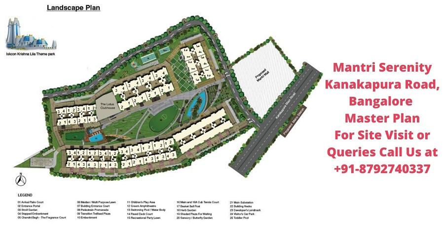 Mantri Serenity Kanakapura Road, Bangalore Master Plan