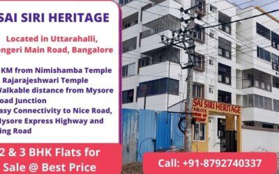 SAI SIRI HERITAGE Uttarahalli, Kengeri Main Road, Bangalore