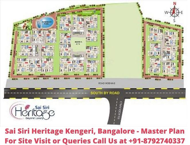 Sai Siri Heritage Kengeri, Bangalore Master Plan