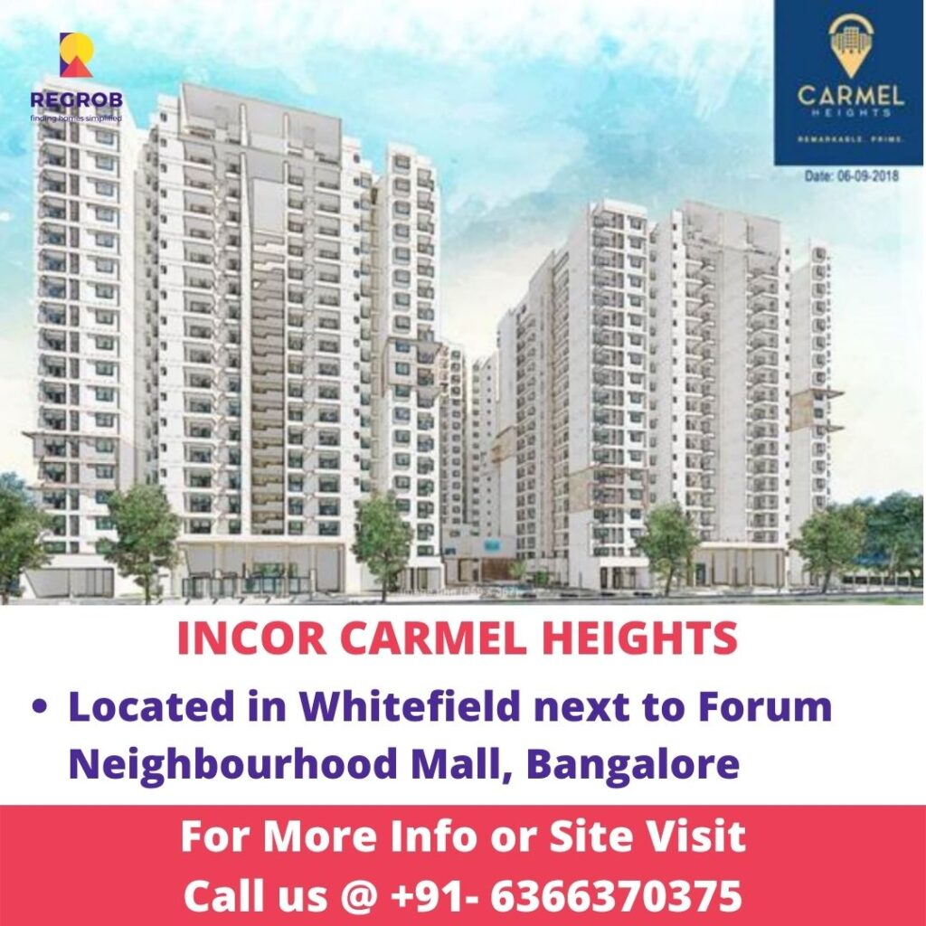 Incor Carmel Heights Whitefield Bangalore