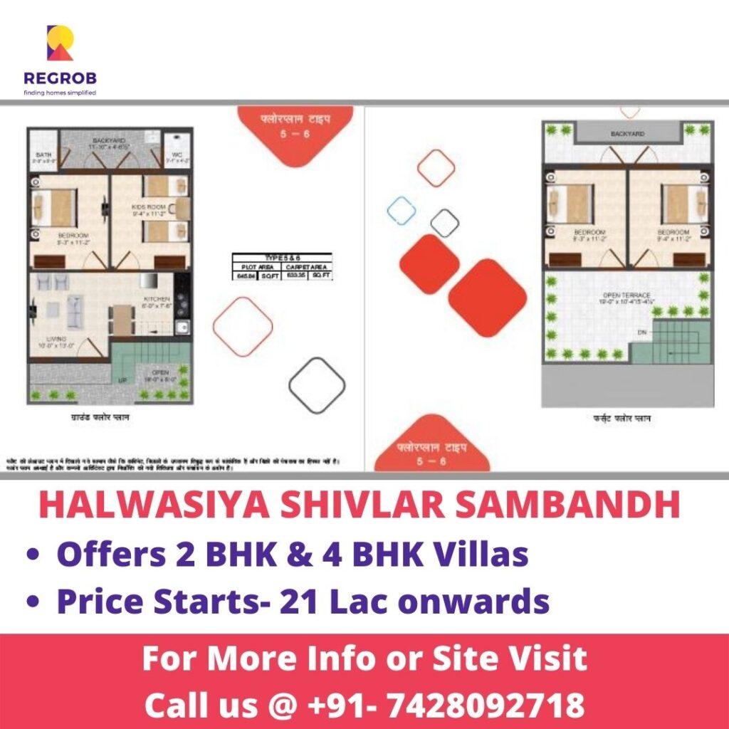 Floor Plan of Halwasiya Shivlar Sambandh Housing Project