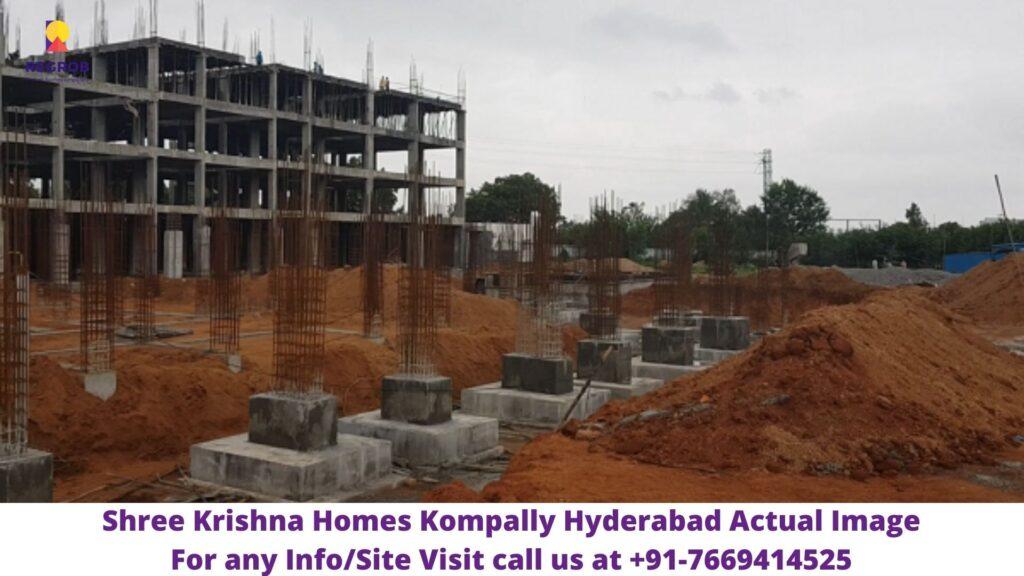 Shree Krishna Homes Kompally Hyderabad Actual Image