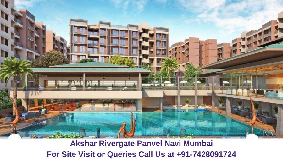 Akshar Rivergate Panvel Navi Mumbai Elelvated View (1)