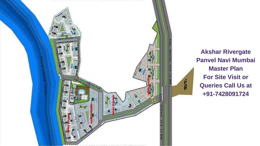 Akshar Rivergate Panvel Navi Mumbai Master Plan