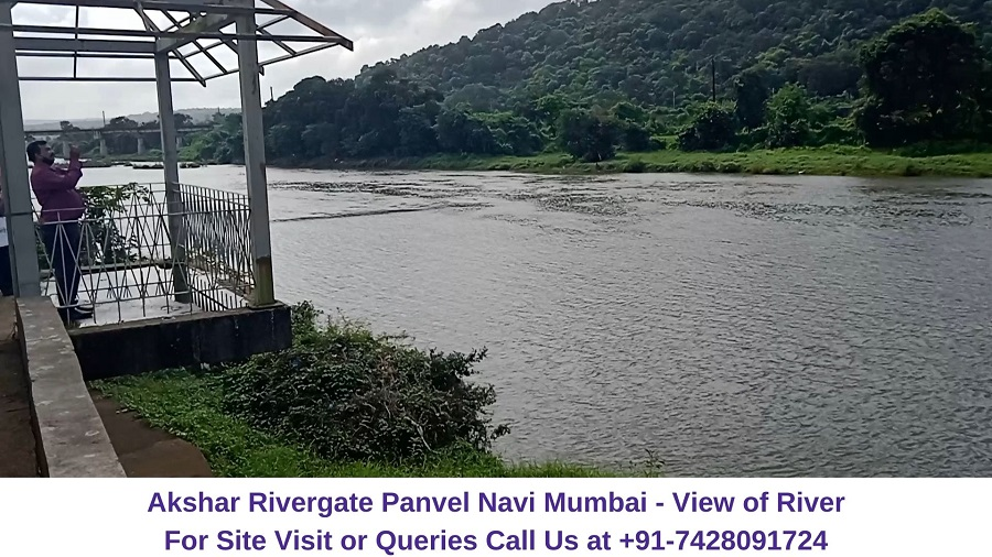 Akshar Rivergate Panvel Navi Mumbai Patalganga River View (1)