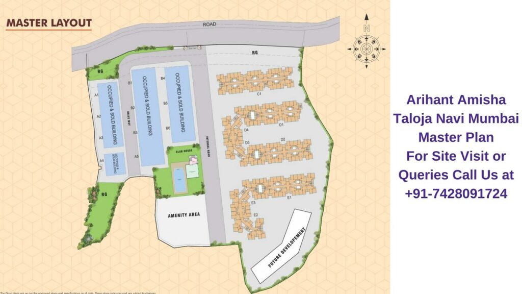 Arihant Amisha Taloja Navi Mumbai Master Plan