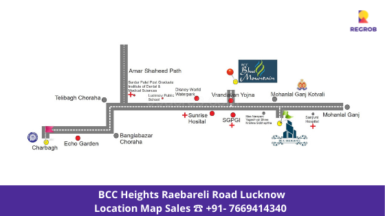 BCC Heights Location Map