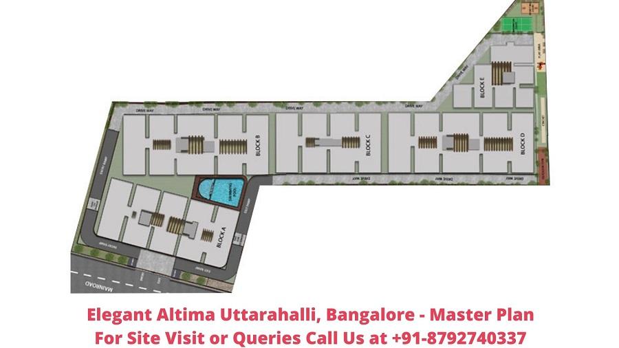 Elegant Altima Uttarahalli, Bangalore Master Plan