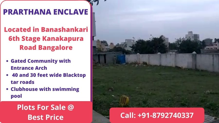 PRARTHANA ENCLAVE Banashankari Bangalore