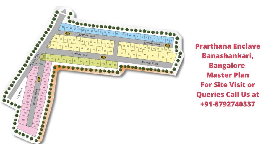 Prarthana Enclave Banashankari, Bangalore Master Plan