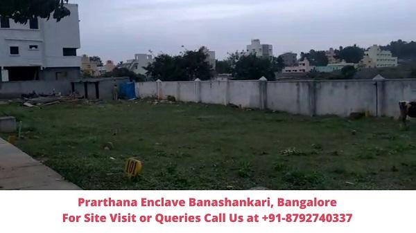 Prarthana Enclave Banashankari, Bangalore View of Plots