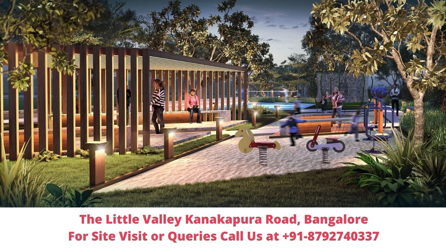 The Little Valley Kanakapura Road, Bangalore Elevated View of Plots Project (2)