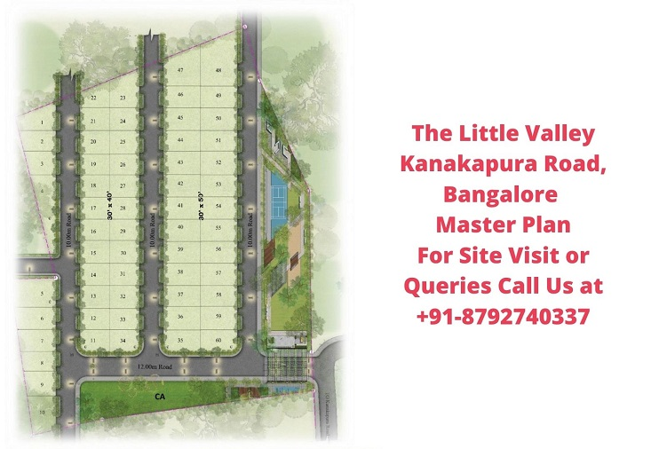 The Little Valley Kanakapura Road, Bangalore Master Plan