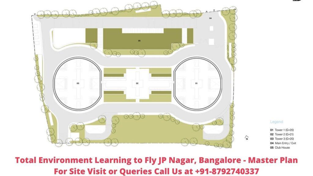 Total Environment Learning to Fly JP Nagar, Bangalore Master Plan