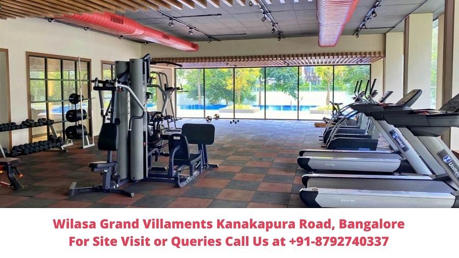 Wilasa Grand Villaments Kanakapura Road, Bangalore Gym