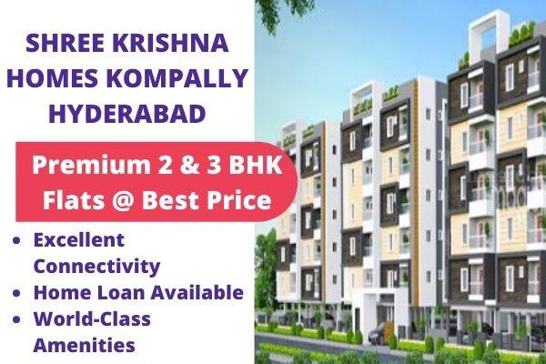Shree Krishna Homes Kompally Hyderabad