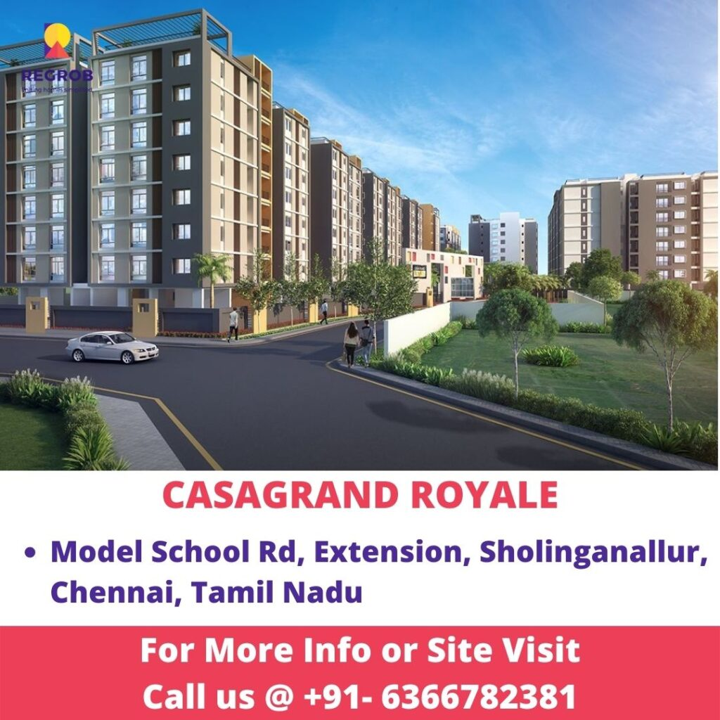 Casagrand Royale Project View